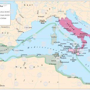 The First Punic War 264-241 BCE
