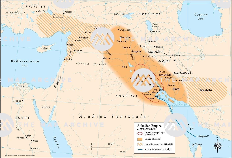 Akkadian Empire C 2350 2230 Bce
