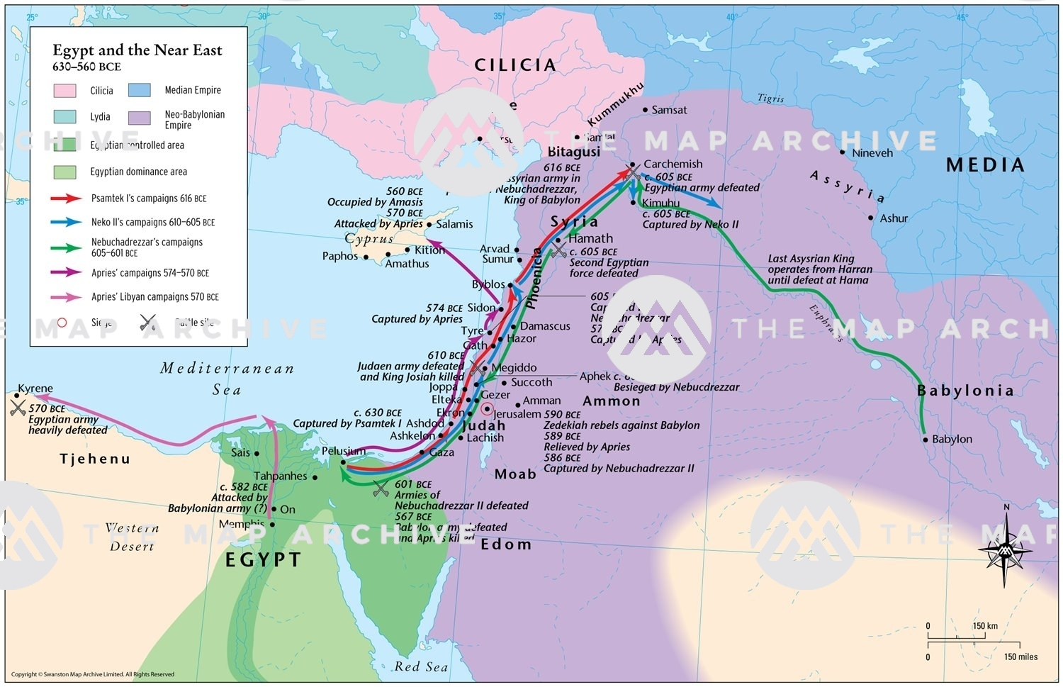 Picture of: Egypt And The Near East 630 560 Bce