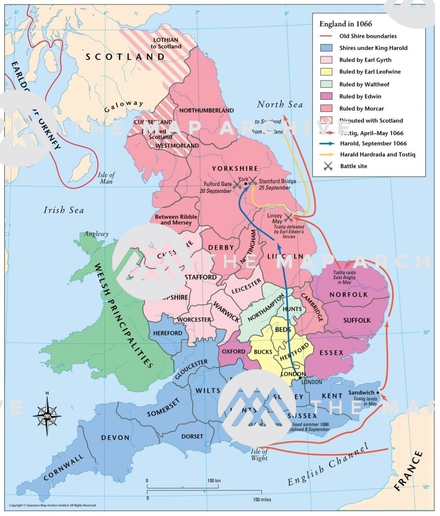 ENglalnd in 1066