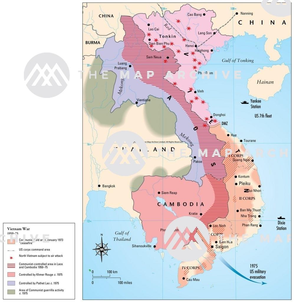 Vietnam War 1959-75