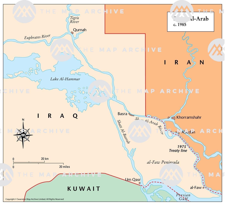 Image of: Shatt Al Arab C 1985
