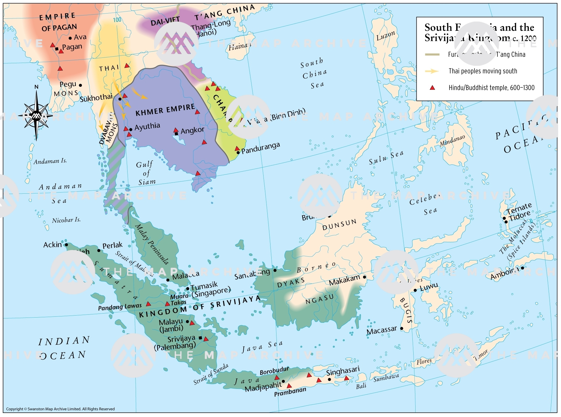 Picture of: South East Asia And The Srivijaya Kingdom C 1200