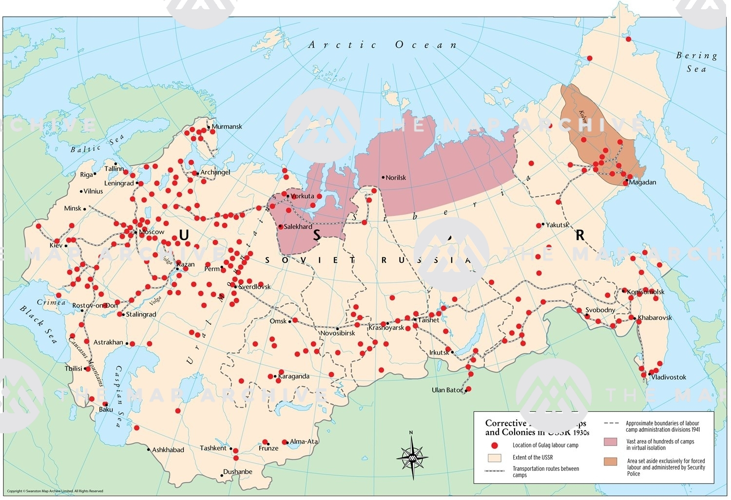 Picture of: Corrective Labour Camps And Colonies In Ussr 1930s