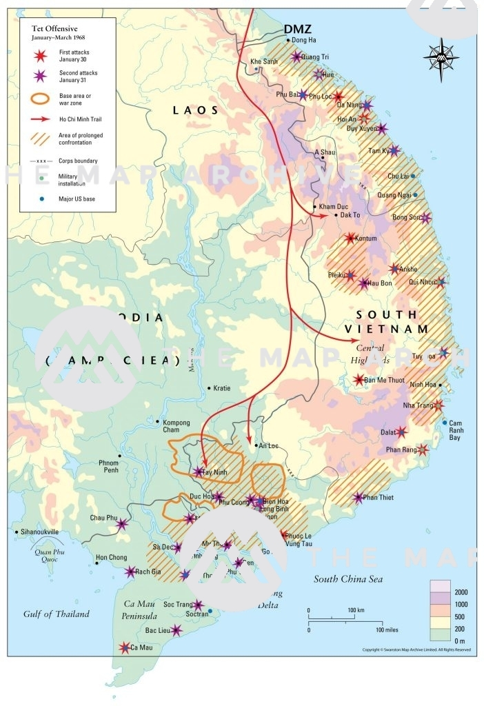 The Tet Offensive March 1968
