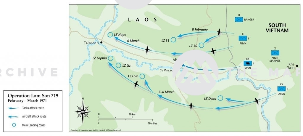Operation Lam Son 719 March 1971
