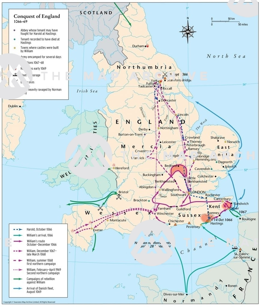 The Conquest of England 1066-69
