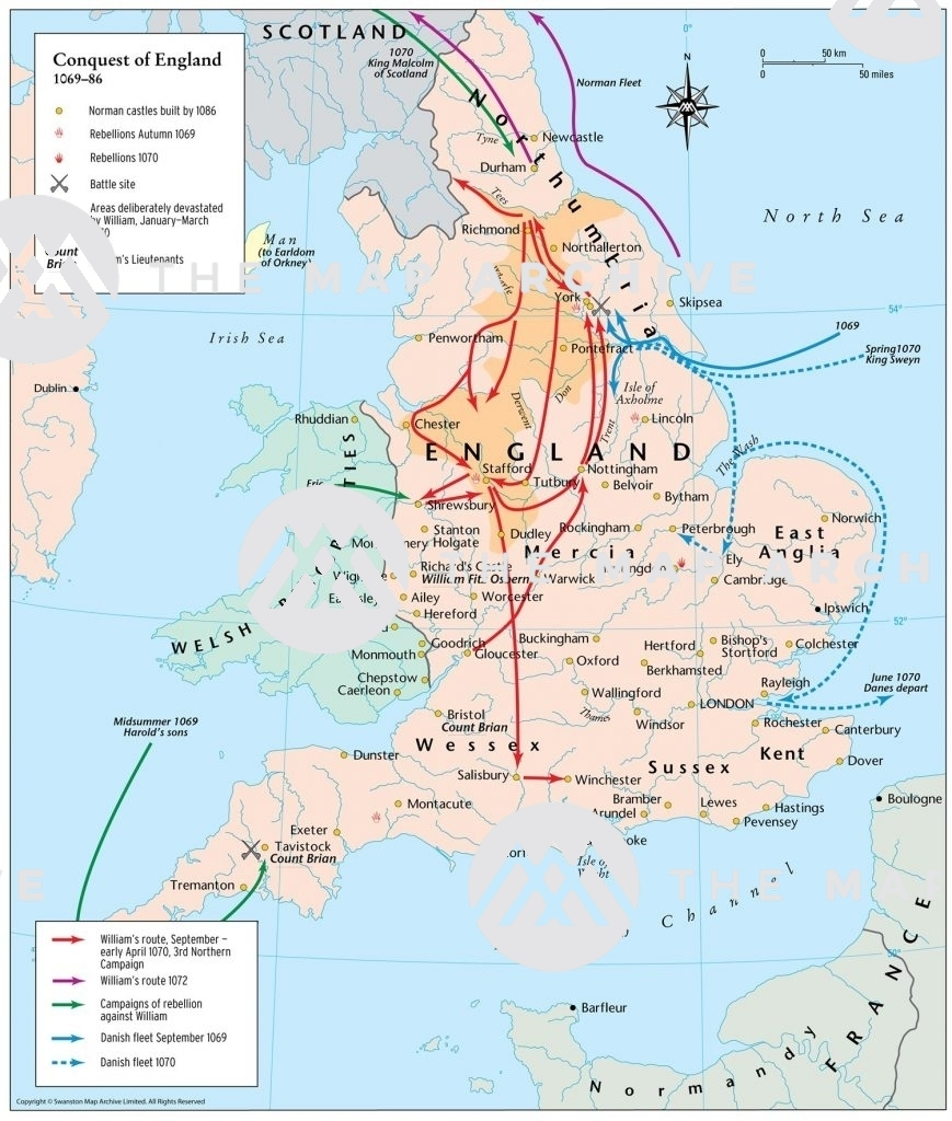 The Conquest of England 1069-86