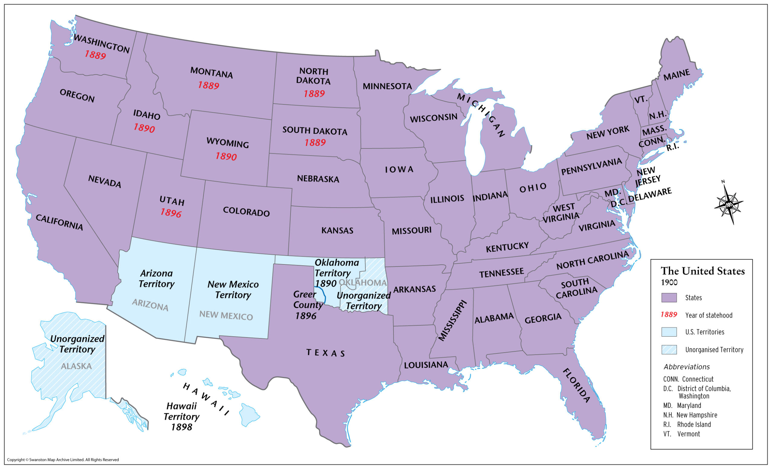 United States 1900