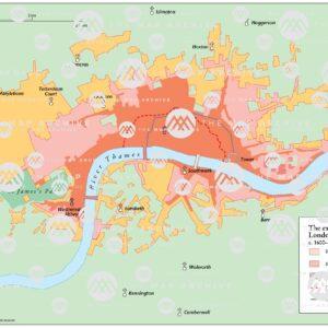 London's Spread 1600-1800