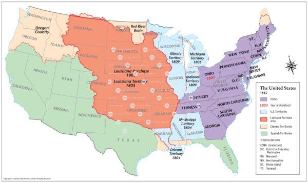 United States 1810