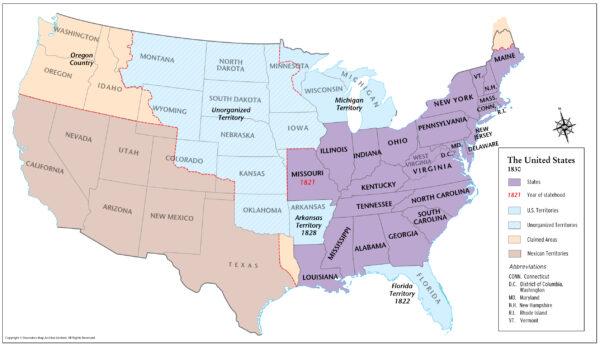 United States 1830