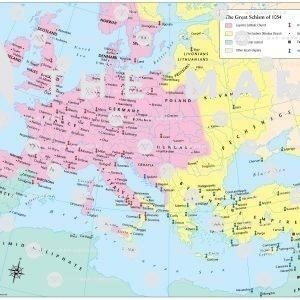 Great Schism beetween Eastern and Western Churches 1054
