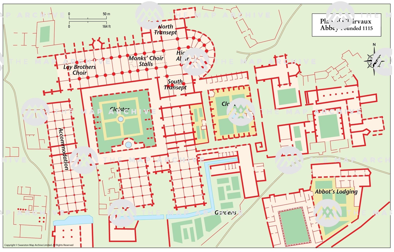 Clairvaux Cistercian Abbey 1115