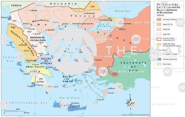 The Decline of the Latin East 1225-61