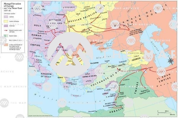 The Mongol Invasion of Europe and t he Near East 1237-60