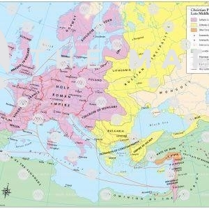 Christian Pilgrimage Routes in the Late Middle Ages