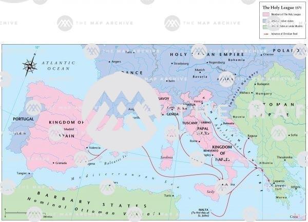The Holy League 1571