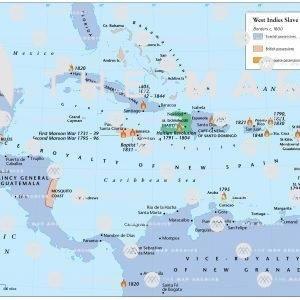 West Indies Slave Revolts 1791-1848