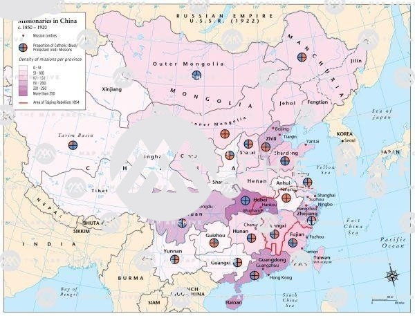 Chinese Missionaries 1850–1920