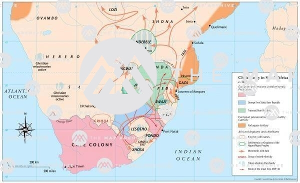 Christianity in South Africa 1858