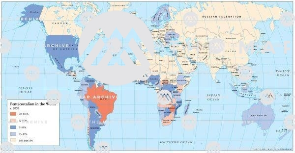 Pentecostalism in the World 2000