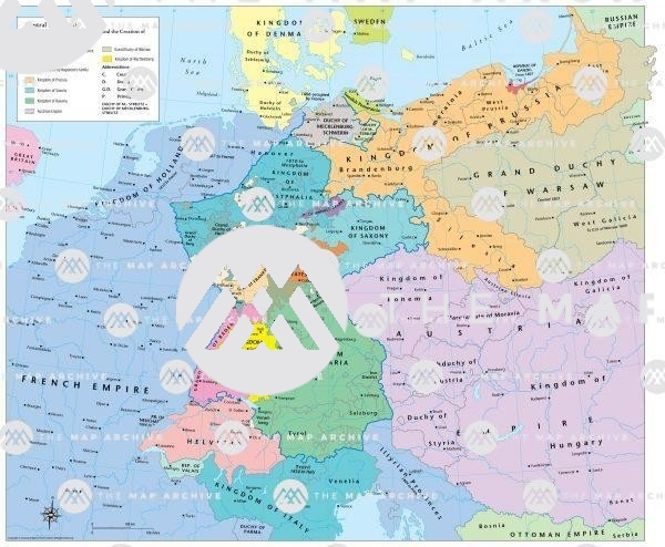 Central Europe 1810